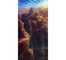 Spectrum of Mana: Lofty Mountain Photographic Print