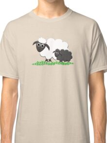 Baby Black Sheep with Ewe Mom Classic T-Shirt