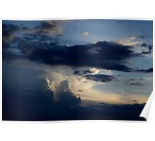 New Mexico Evening Sky Poster