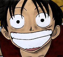 Monkey D Luffy by Philinblank