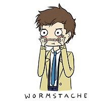 Castiel Wormstache by ScissorCrazy