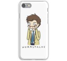 Castiel Wormstache iPhone Case/Skin