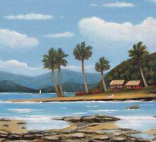 Hawaiian Shores by Gordon  Beck