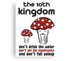 The 10th Kingdom: The Mushrooms Canvas Print