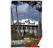 """The Rose Bowl - Pasadena"" Poster"
