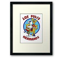 Los Pokés Hermanos Framed Print
