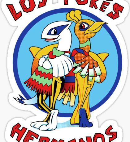 Los Pokés Hermanos Sticker