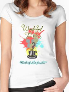 Wonderland Tea Co. Women's Fitted Scoop T-Shirt