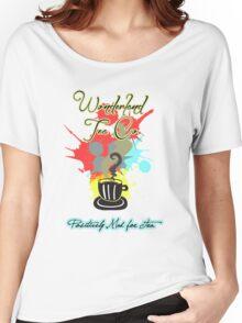 Wonderland Tea Co. Women's Relaxed Fit T-Shirt
