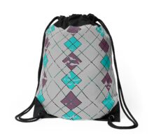 Argyle Will Never Go Out of Style Drawstring Bag