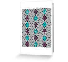 Argyle Will Never Go Out of Style Greeting Card