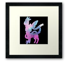 Pokemon Galaxy Sylveon Framed Print