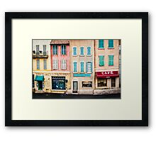 Scenographic City Framed Print