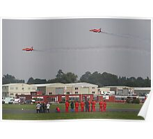 The Red Duo Formation Team - Dunsfold 2013 Poster