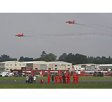 The Red Duo Formation Team - Dunsfold 2013 Photographic Print