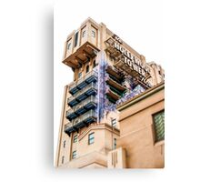 The Hollywood Tower Hotel Canvas Print