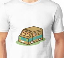 Princess in a Cardboard Car Unisex T-Shirt
