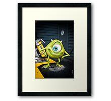 Mike Wazowski Framed Print