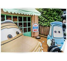 Cars Garage Poster
