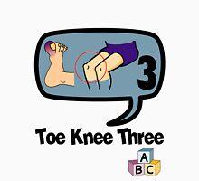 Toe Knee Three - make next election count. Unisex T-Shirt