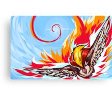 Pidgeot | Brave Bird Canvas Print