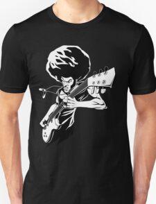 Afro Rock Guitarist Unisex T-Shirt