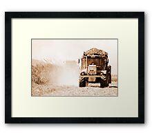Sugar cane harvest - far north Queensland Framed Print