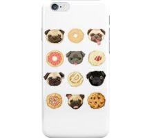 Pug Food - #Pug #Tumblr #PugsAreAwesome #PugLife iPhone Case/Skin