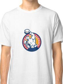 Boxer Boxing Punching Jabbing Retro Classic T-Shirt