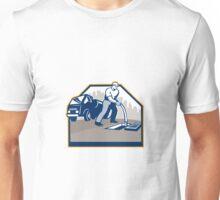 Drainage Unblocking Drain Surgeon Retro Unisex T-Shirt
