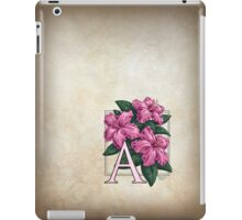 A is for Azalea - full image iPad Case/Skin