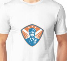 Policeman Security Guard Police Officer Crest Unisex T-Shirt