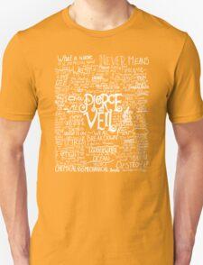 New Fan Art Pierce The Veil Song Lyric T-Shirt
