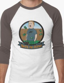 King of the Hill Inspired - Bobby Hill Self-Defense - That's My Purse - Bobby Hill Parody Men's Baseball ¾ T-Shirt