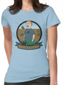 King of the Hill Inspired - Bobby Hill Self-Defense - That's My Purse - Bobby Hill Parody Womens Fitted T-Shirt