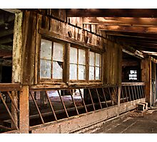 Big Old Barn Photographic Print