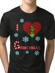 Merry Merry Grinchmas Tri-blend T-Shirt