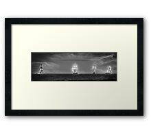 """""""Ghost Ships"""" Framed Print"""