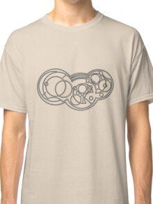 The Weeping Angels- Circular Gallifreyan Classic T-Shirt