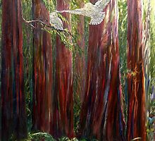 OLD GROWTH AND  SNOW OWLS by Doria Fochi