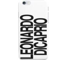 Leonardo Dicaprio Case iPhone Case/Skin