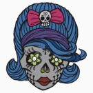 She Sugar Skull by Tiffany Garvey