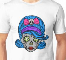 She Sugar Skull Unisex T-Shirt