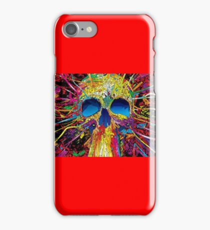 Colorful Skull iPhone Case/Skin