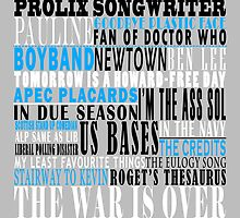 The War Songs Poster by the-chaser