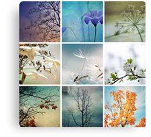 Once upon a season Canvas Print