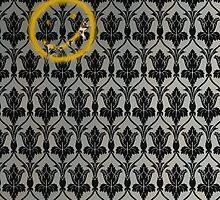 Sherlock 221B Baker Street Wall by mrwuscience