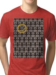 Sherlock 221B Baker Street Wall Tri-blend T-Shirt