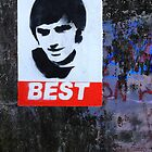George Best Portraiture  by Wrayzo