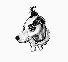 Jumpin' Jack Russell Graphic ~ black and grey tones Unisex T-Shirt